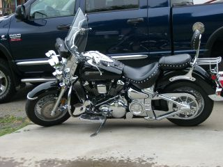 2003 Midnightstar - Black And Chrome,  1600cc,  Excellent Con. photo