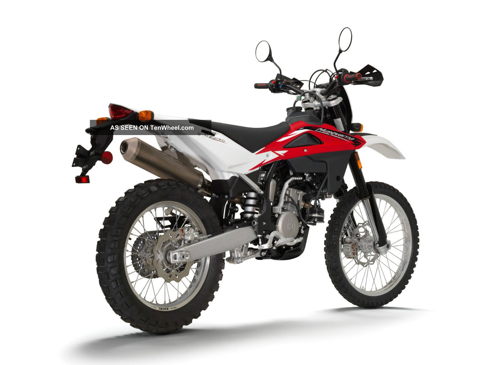 2012 Husqvarna Te250 Street Legal Enduro Motorcycle