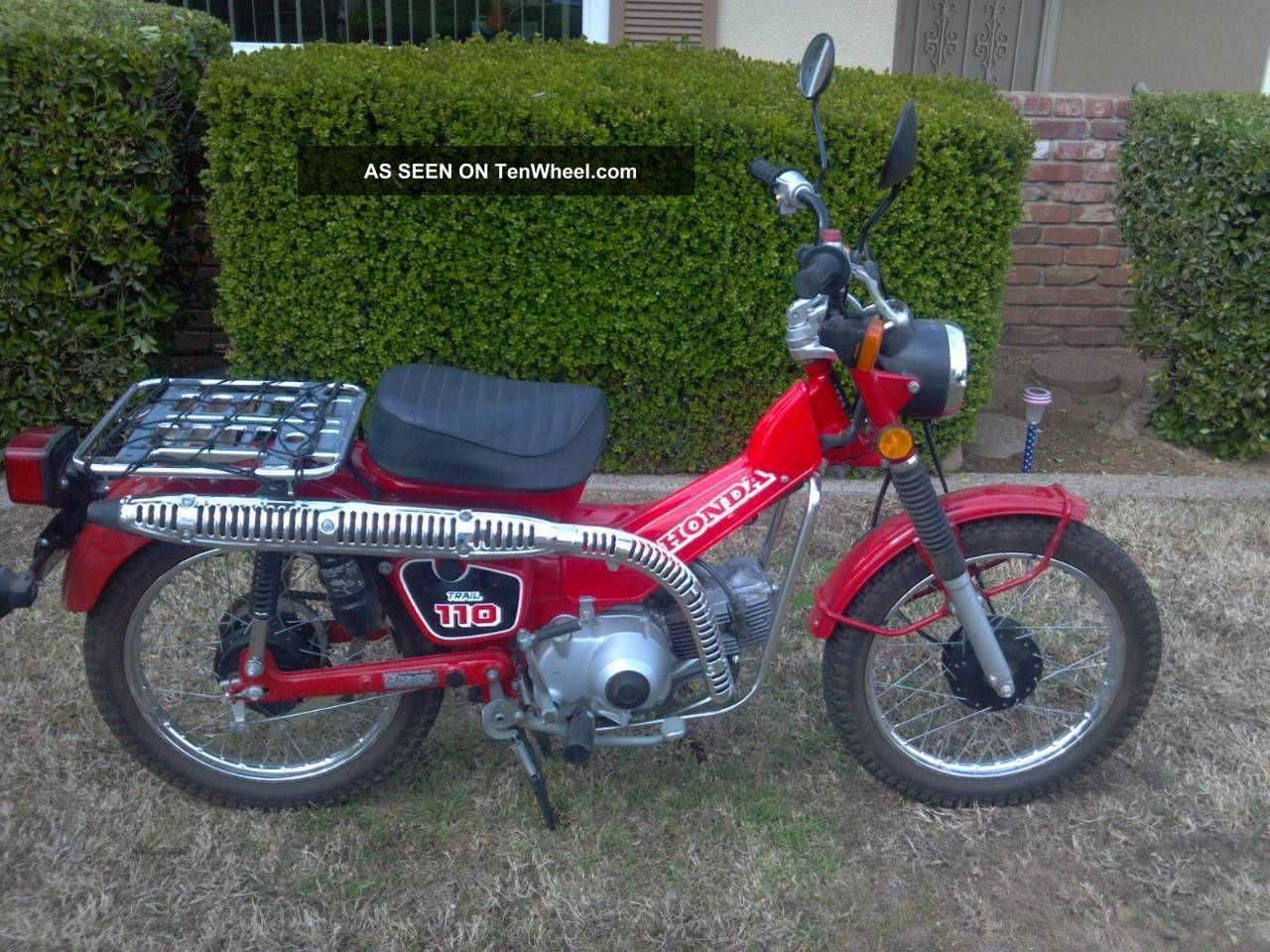 1986 Honda Ct 110 CT photo