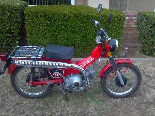 1986 Honda Ct 110 photo