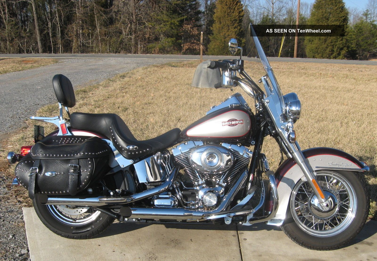 2007 Harley Davidson Motorcycle Heritage Softail Classic