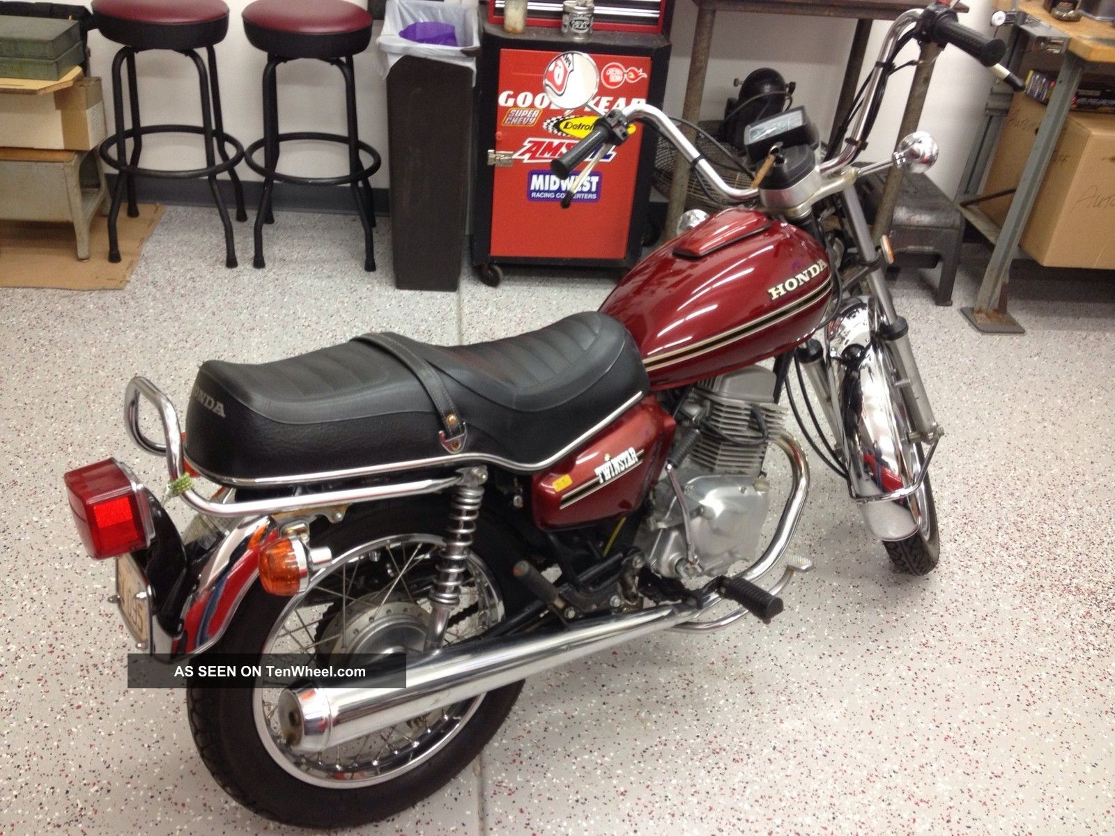 1978 Honda Cm 185 Twin Star Motorcycle Other photo