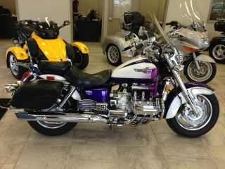 1997 Honda Gl1500c Valkyrie Showroom Condition Loaded With Extras Rare Color photo