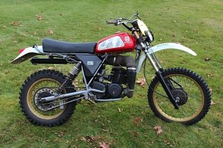 Husqvarna Or / Cr 250 1979 Enduro Vintage photo