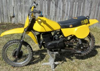 1979 Suzuki Rm60 Rm 60 Ahrma Vintage Motocross Bike Dirt Bike photo