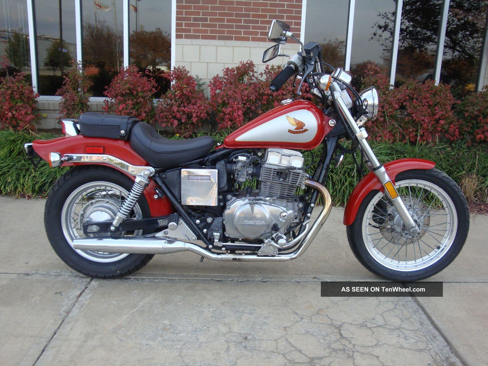 1986 Honda Rebel 450