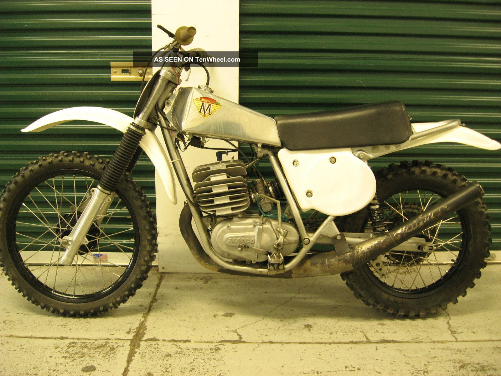 1974.  5 Maico 400 Gp,  Ahrma,  Vintage Race Bike,  250 490 Other Makes photo