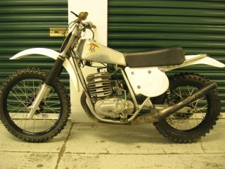 1974.  5 Maico 400 Gp,  Ahrma,  Vintage Race Bike,  250 490 photo