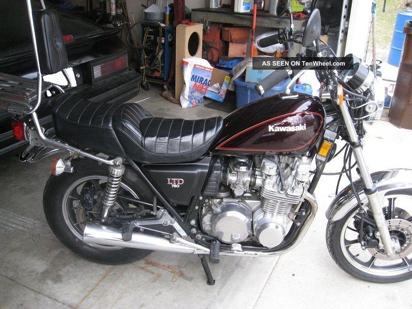 Look Supr 1981 Kawasaki Kz 750 Ltd