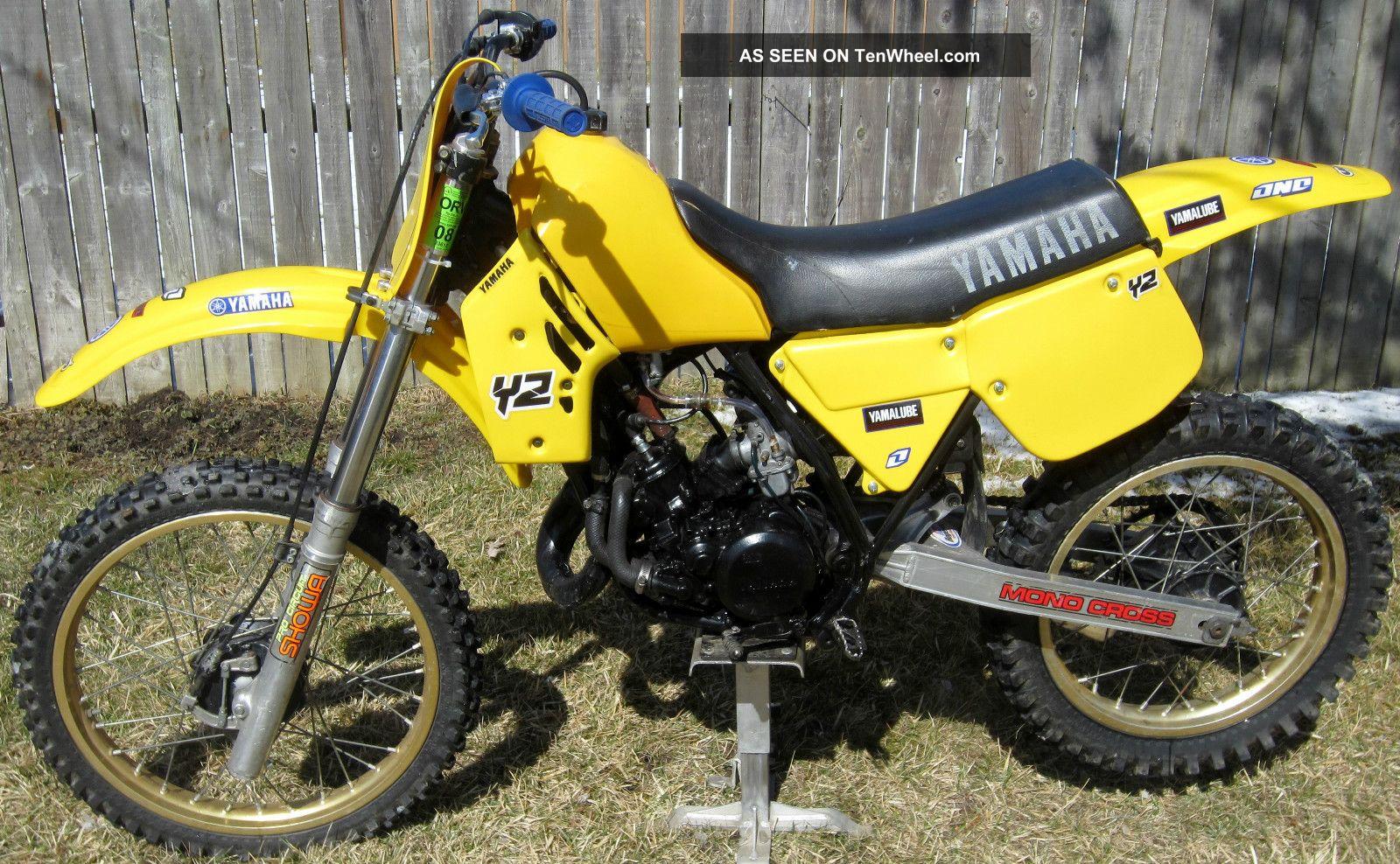 Dirt Bikes Yamaha 125 Yamaha Yz Yz Ahrma