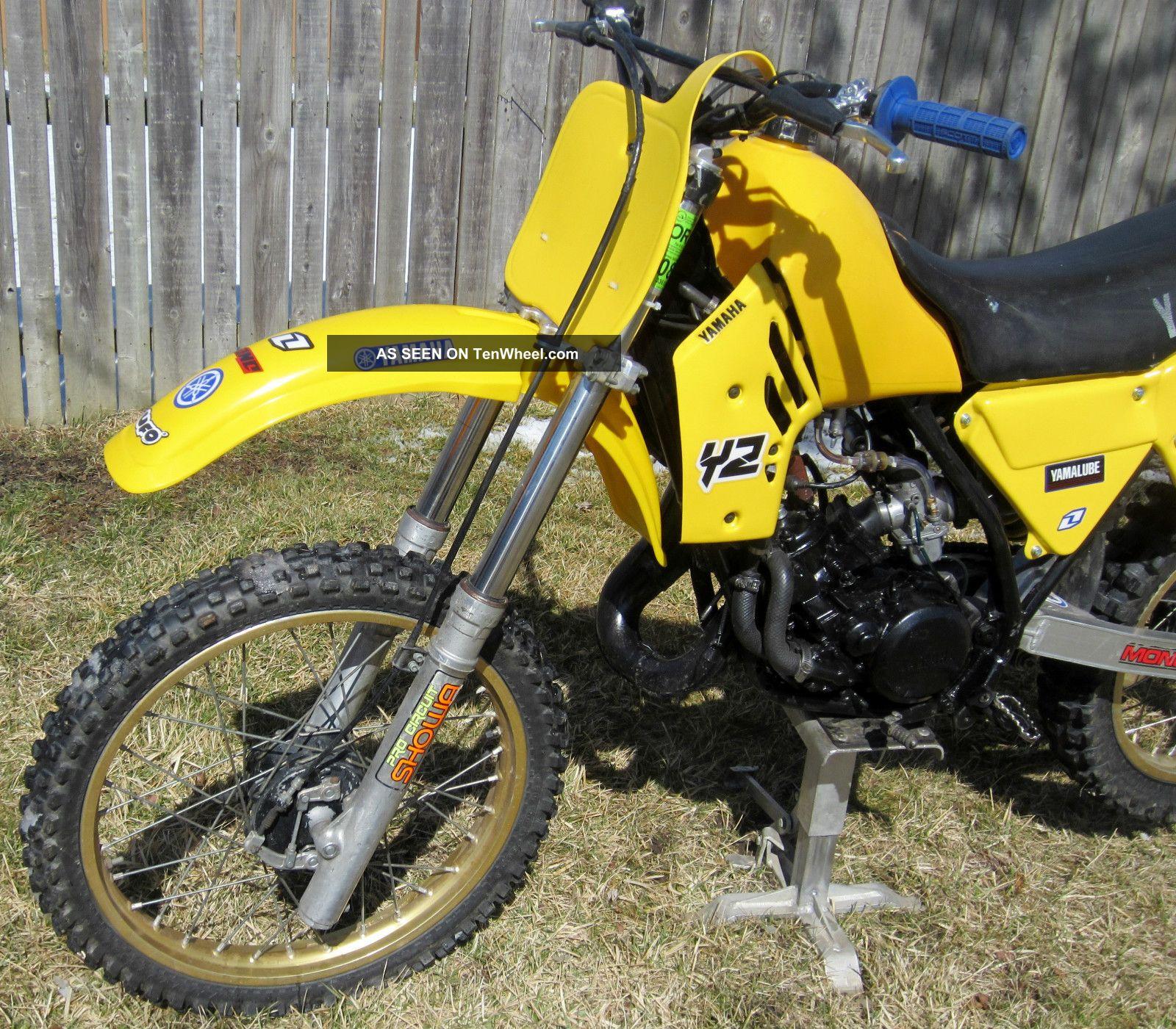 1984 yamaha yz125 yz 125 ahrma vintage motocross dirt bike. Black Bedroom Furniture Sets. Home Design Ideas