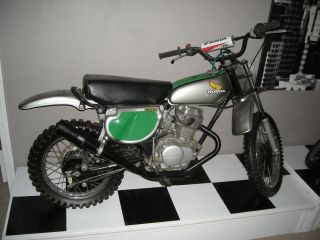 1977 Honda Xr 75 Elsinore Replica Cool Bike photo