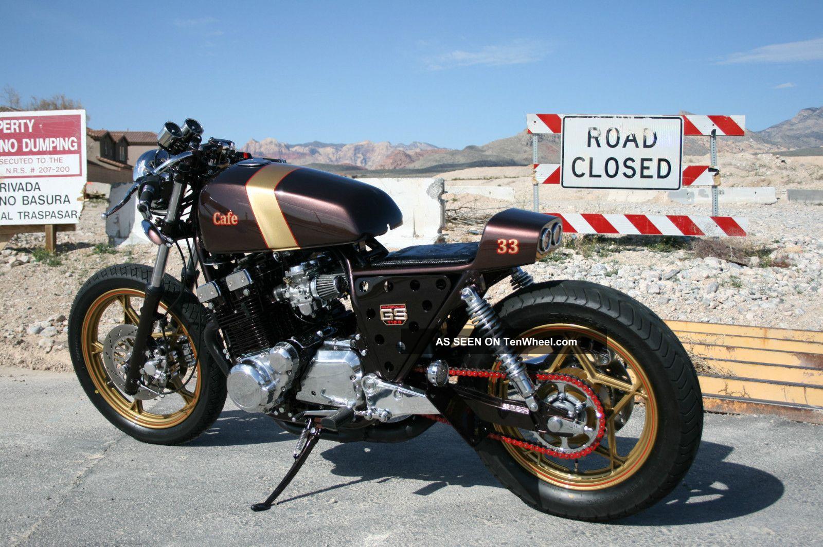 Custom Cafe Racer Motorcycle - 1981 Suzuki Gs1100e -