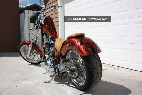 2005 Pcw Custom Detroit Chopper Soft Tail Agressor W / S& S 96 Motor Other Makes photo