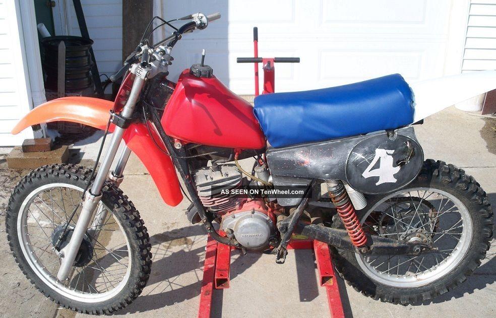 1980 Honda Cr125 Mx Motorcycle Vintage Classic Ahrma Rare CR photo