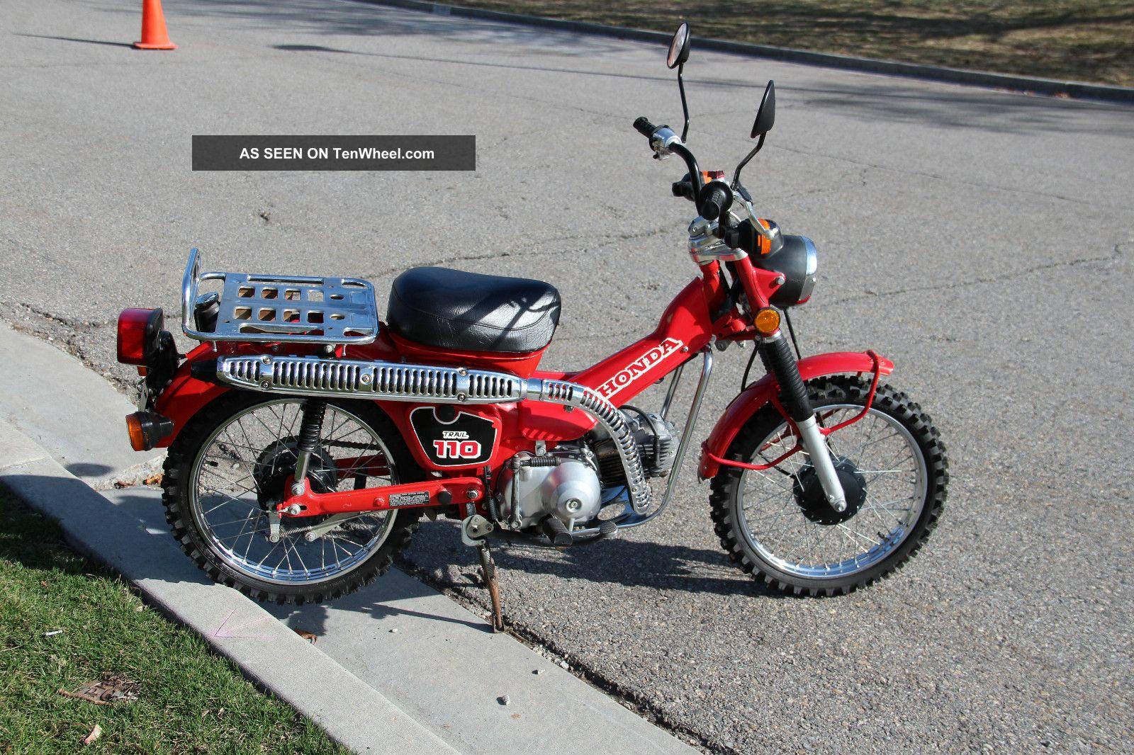 1986 Honda Ct Trail 110,  Hi / Low Transmission CT photo