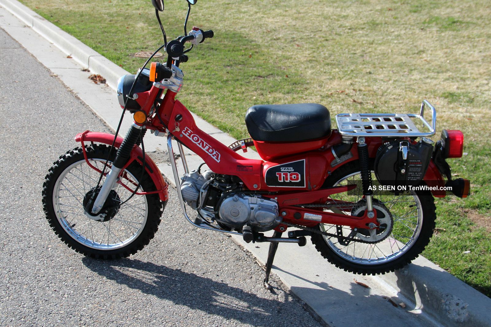 1986 honda ct trail 110 hi low transmission for Honda in ct