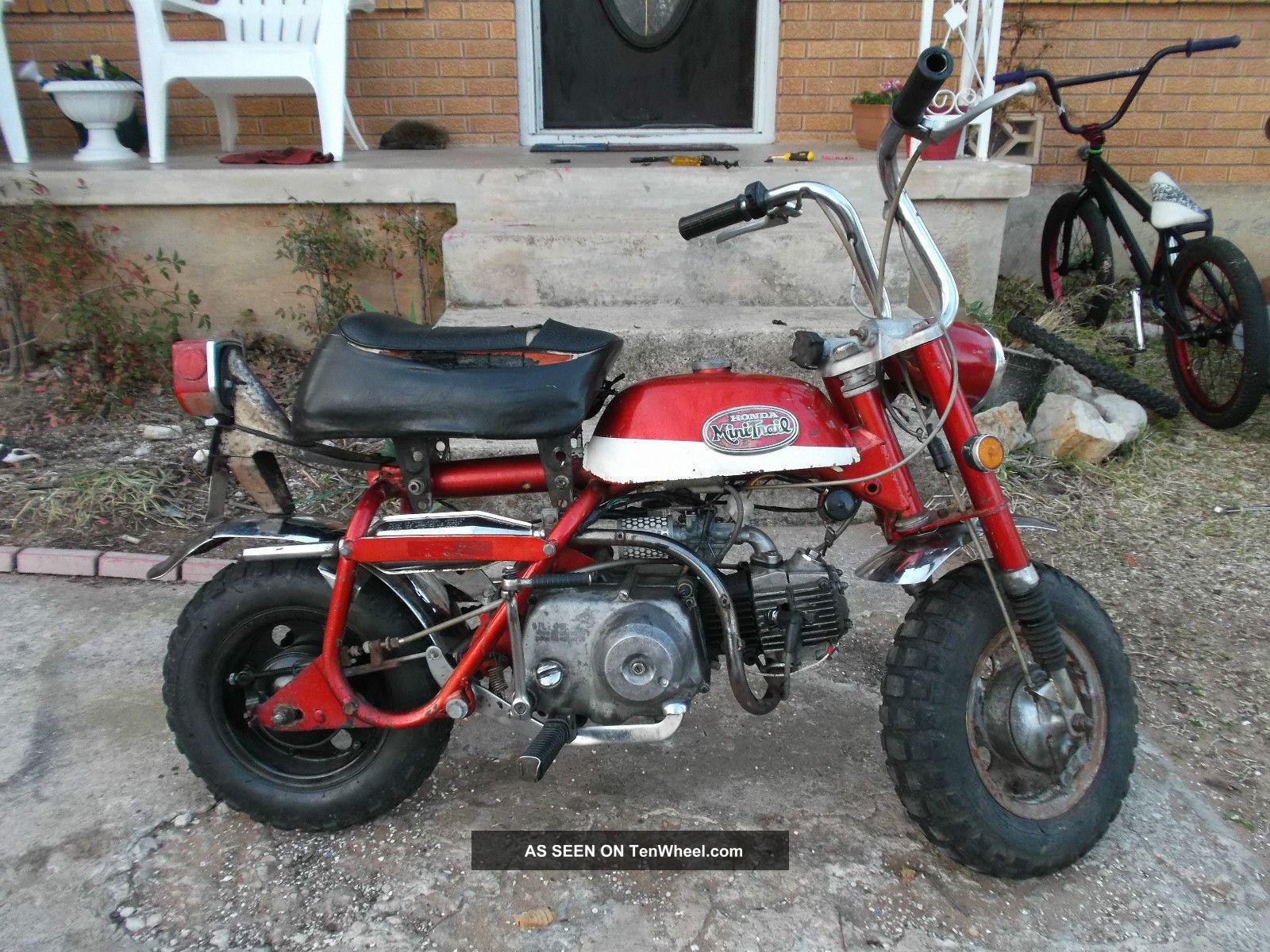 Honda 50cc Pocket Bike Wiring Diagrams 1970 Dirt 1971 Mini Trail For Sale