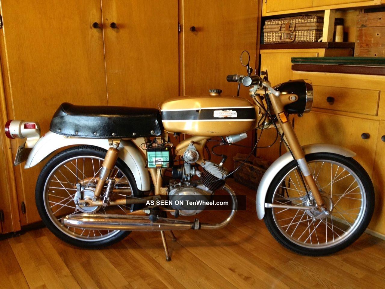 1970 Harley Davidson Aermacchi M65 Motorcycle Leggero Classic Vintage Other photo