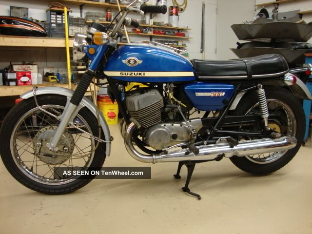 1970 Suzuki T500 Titan Other photo