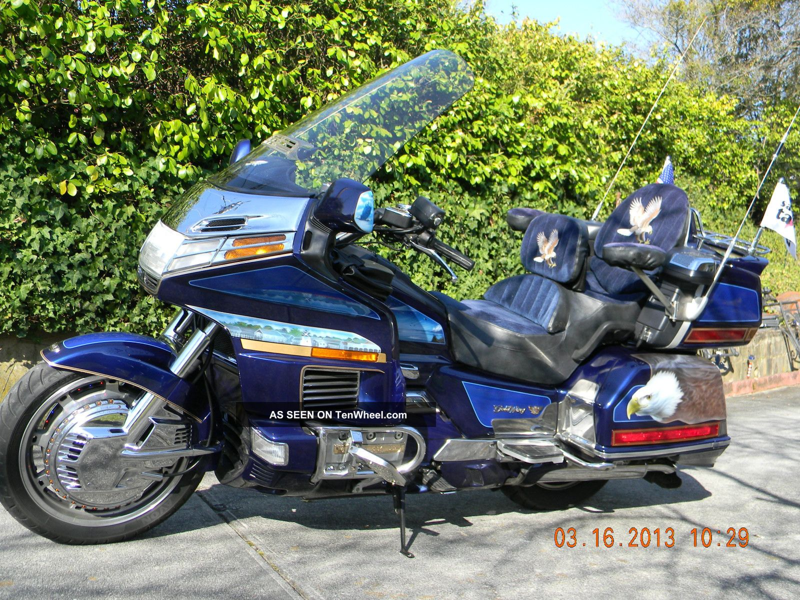 Motorcycles Honda Web Museum 1970 Ct70 Paint Colors 1993 Goldwing 1500 Se Custom Lighting One Of A Kind Photo