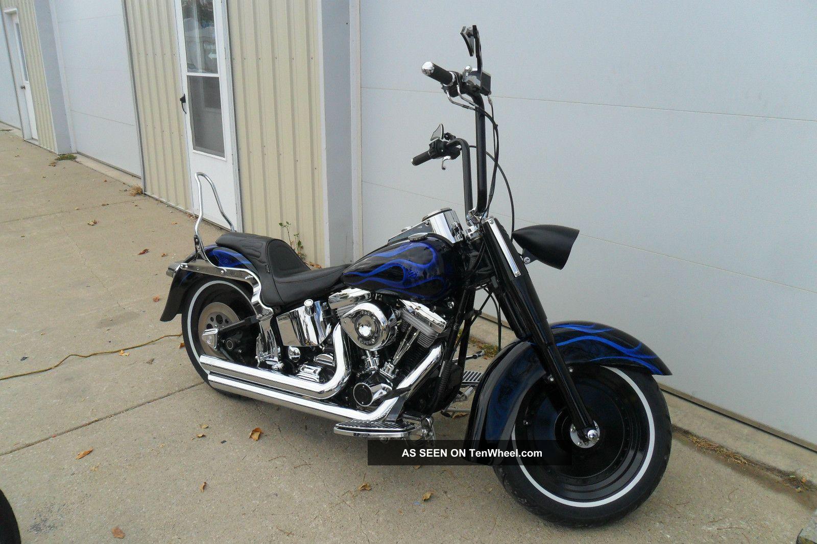1994 Harley Davidson Custom Softail Completely Rebuilit,  Custom Paint Softail photo