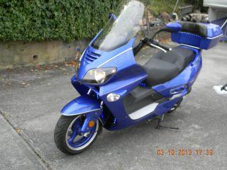 2008 Custom Roke Motor Scooter 250cc photo