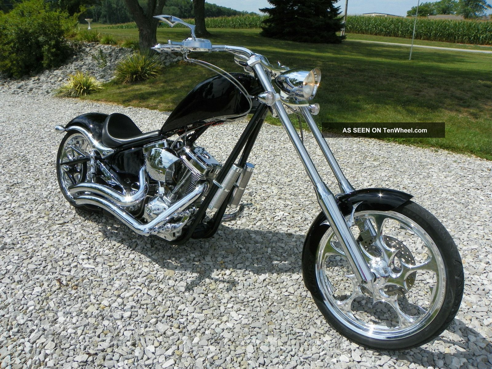 Chopper Dog Big Dog k Chopper Motorcycle
