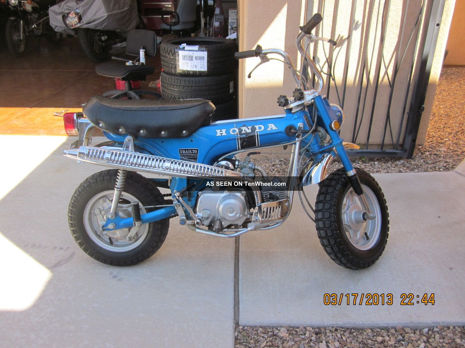 1970 Blue Honda Ct70 Automatic CT photo