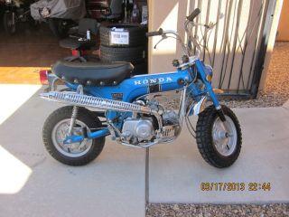 1970 Blue Honda Ct70 Automatic photo