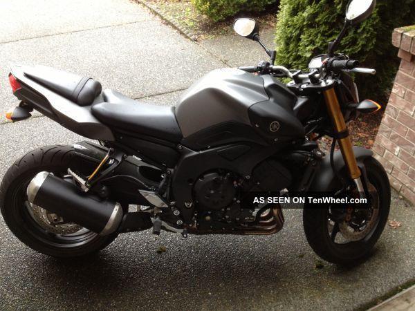 2012 Yamaha Fz8 FZ photo