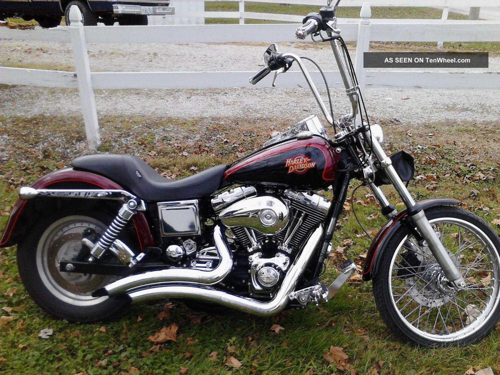 Harley Davidson Dyna Wide Glide Pictures