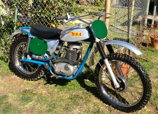 1971 Bsa B50mx,  Good Riding Condition,  Fast,  Arhma Eligible photo