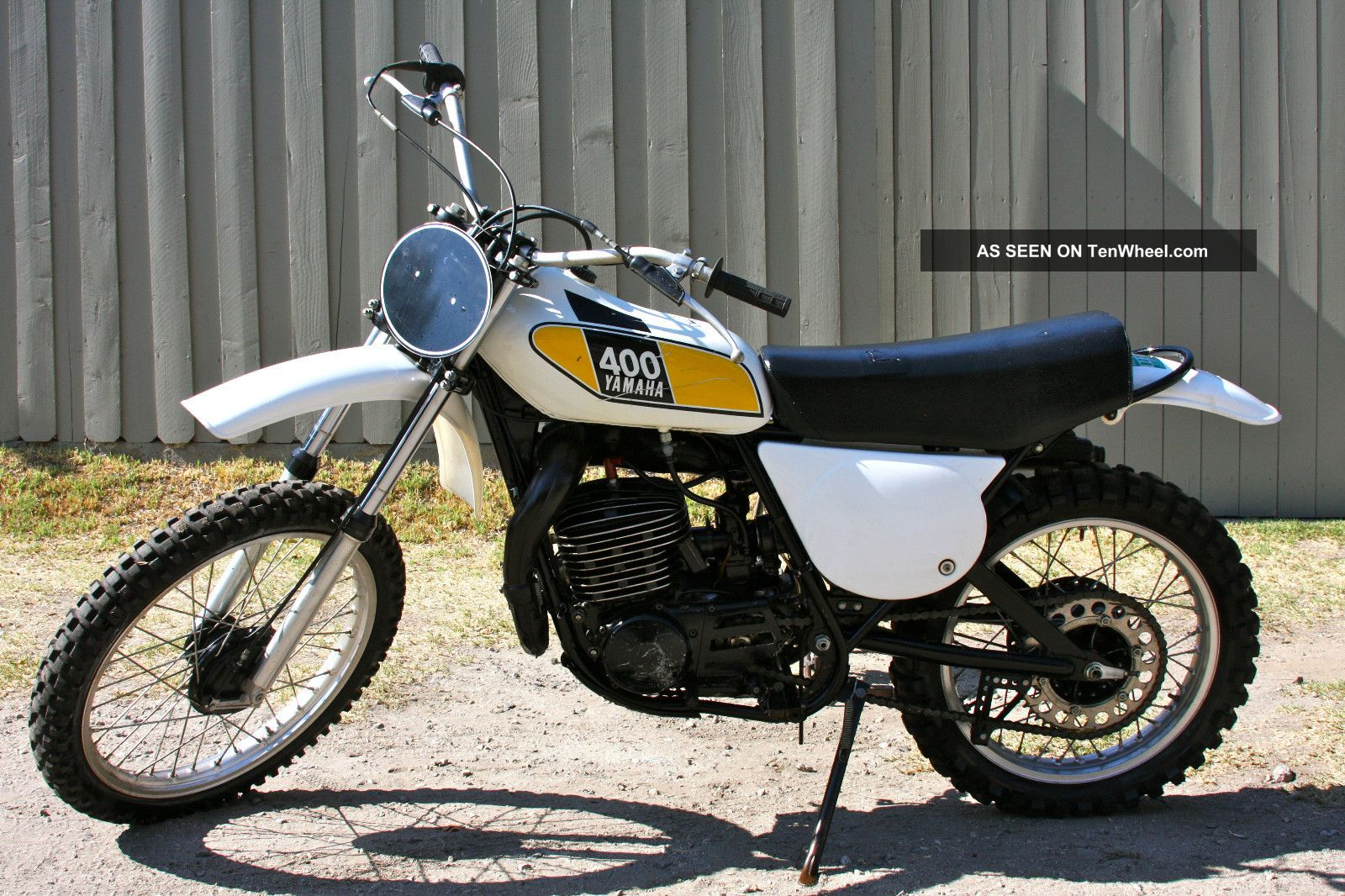 1975 Yamaha Mx400,  Unrestored,  Unmolested,  Excellent Runner,  Ex - James Darren Other photo