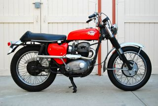 1966 Bsa Hornet,  1st Year,  Bates Head And Taillight,  Fresh, photo