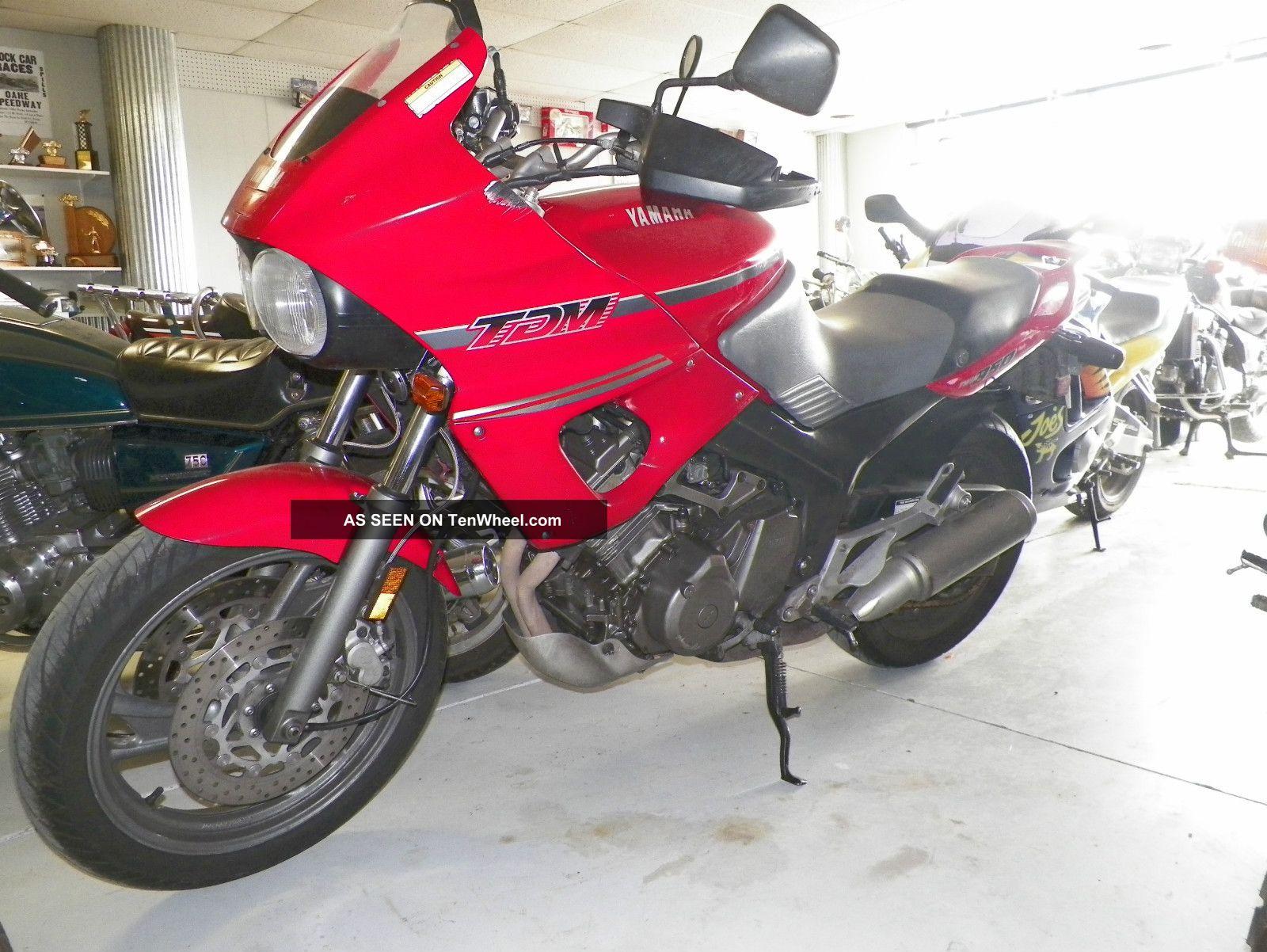 1992 yamaha tdm 850 adventure bike rare. Black Bedroom Furniture Sets. Home Design Ideas