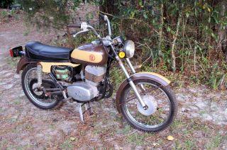 1974 Cz 175 Street Bike photo