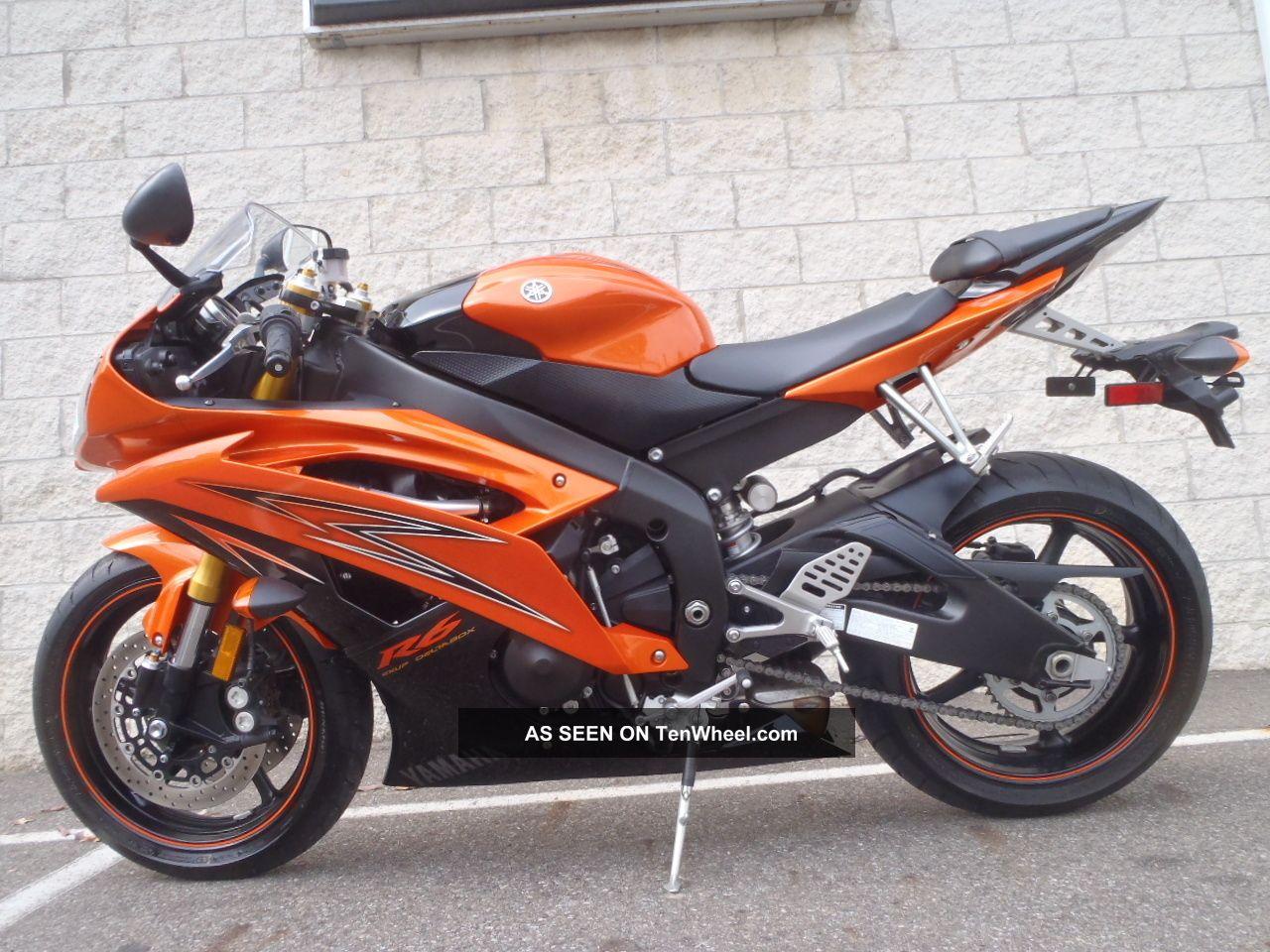 2009 yamaha yzf r6 orange um90681 df for 2009 yamaha r6