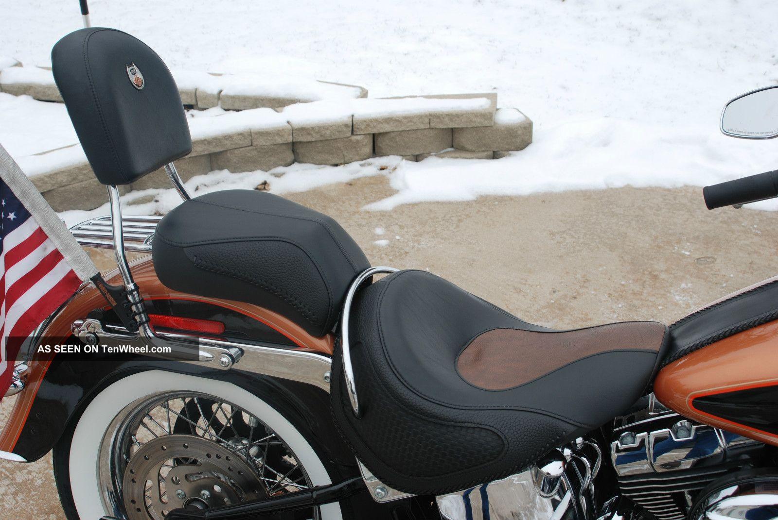 2008 Harley Davidson Flstn Softail Deluxe 105th Anniversary Edition