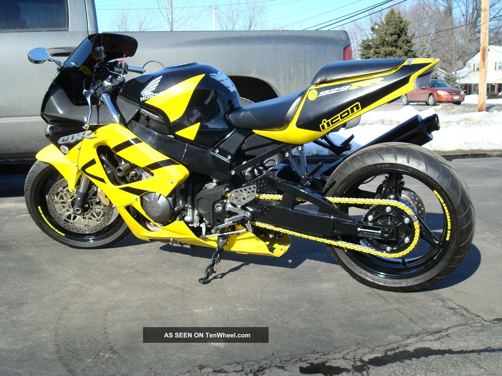 custom 2001 honda cbr 929 rr with nitrous