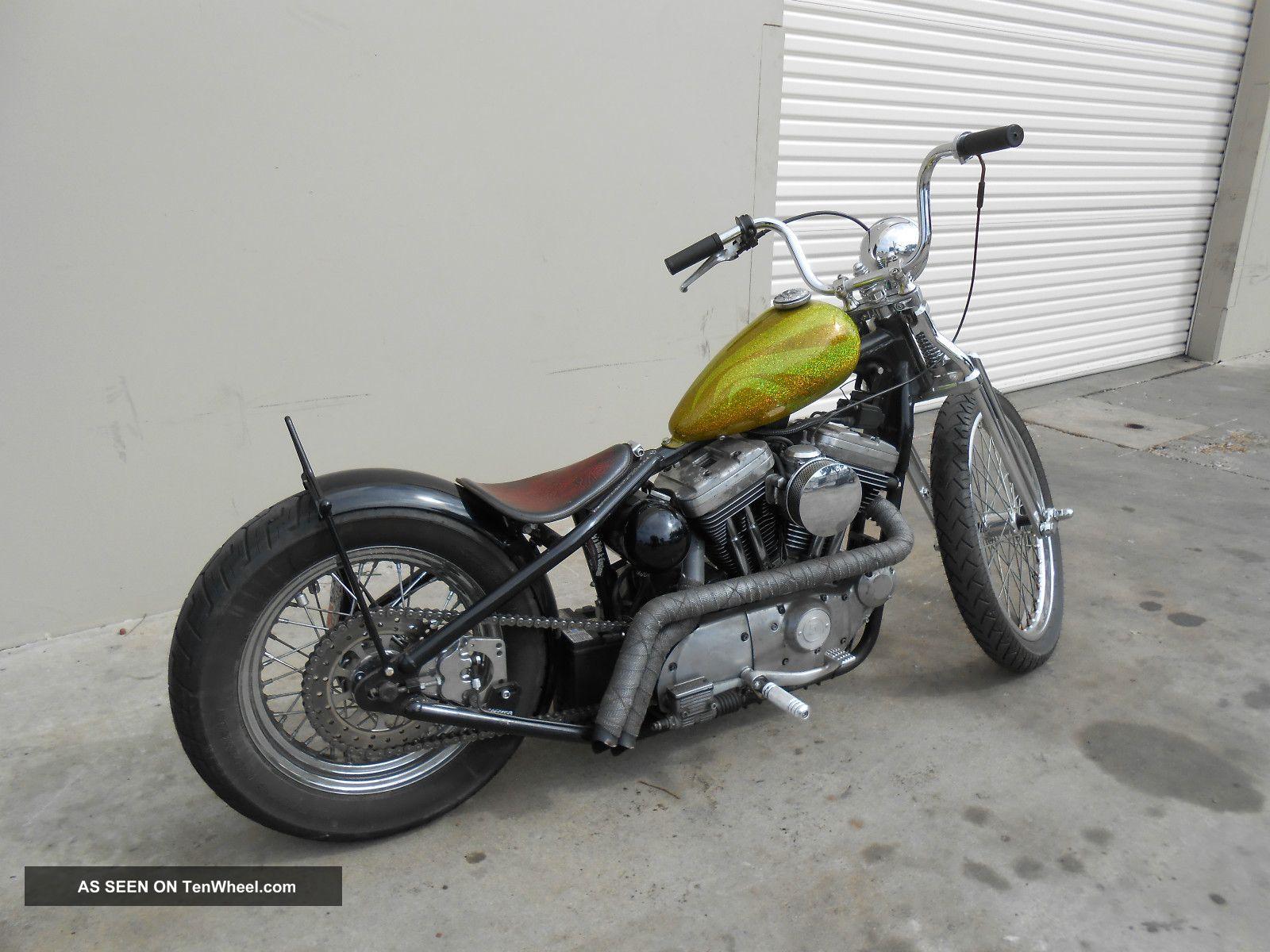 1992 Harley Davidson Sportster Rigid Chopper Bobber