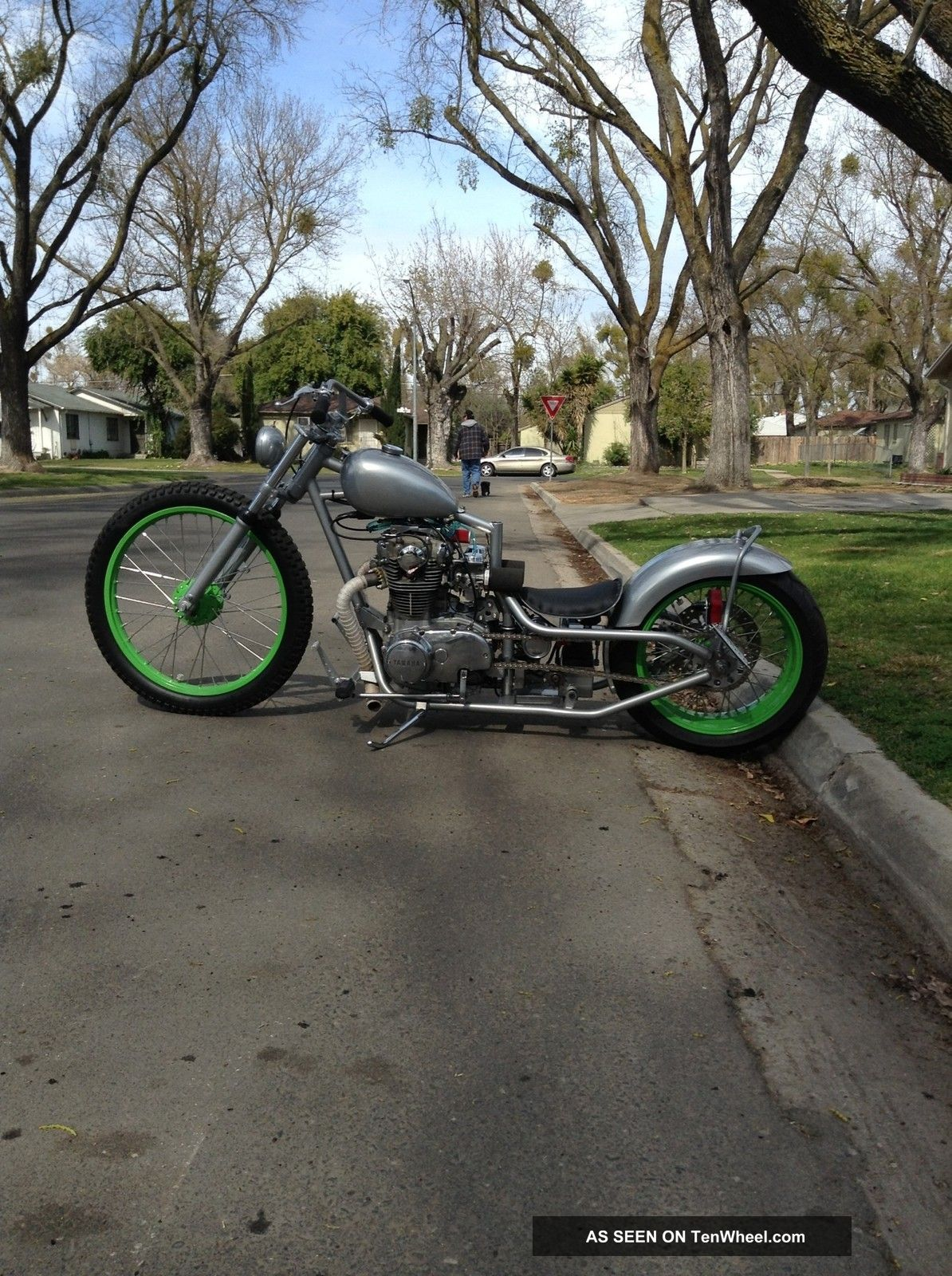 1980 Custom Dropseat Chopper Bobber