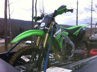 2011 Kawasaki Kx250f photo
