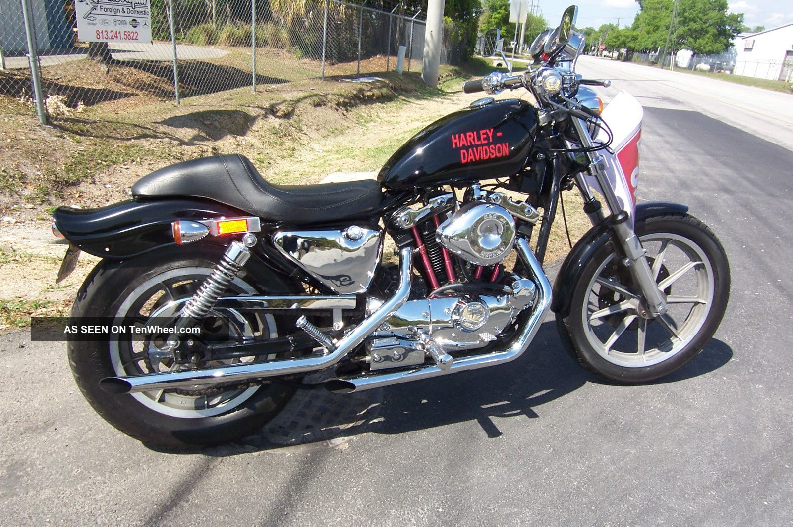 1985 Harley Davidson Sportster Rare E1985 1000cc Sportster - 1 Of 1500 Made Sportster photo
