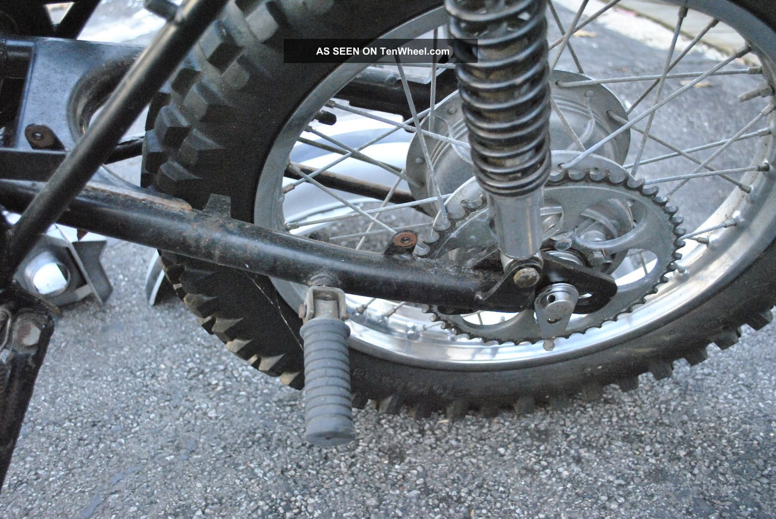 Vintage 1971 Yamaha Dt 1 F 250 Cc Enduro Motorcycle Dirt Bike Honda 50cc Motocross Mx