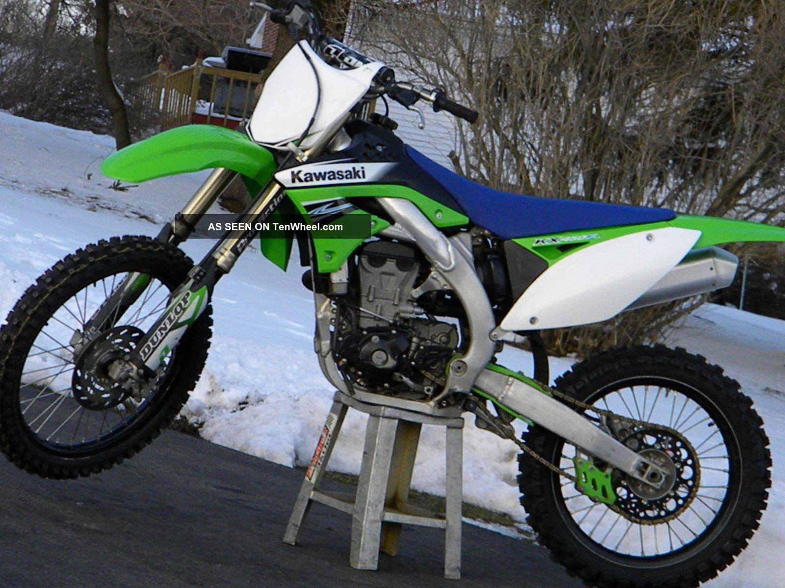 2011 Kawasaki Kx450f KXF photo