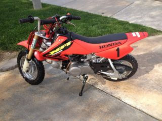 2002 Honda Xr 50 Very Registered Thru June 2013 Title In Hand photo