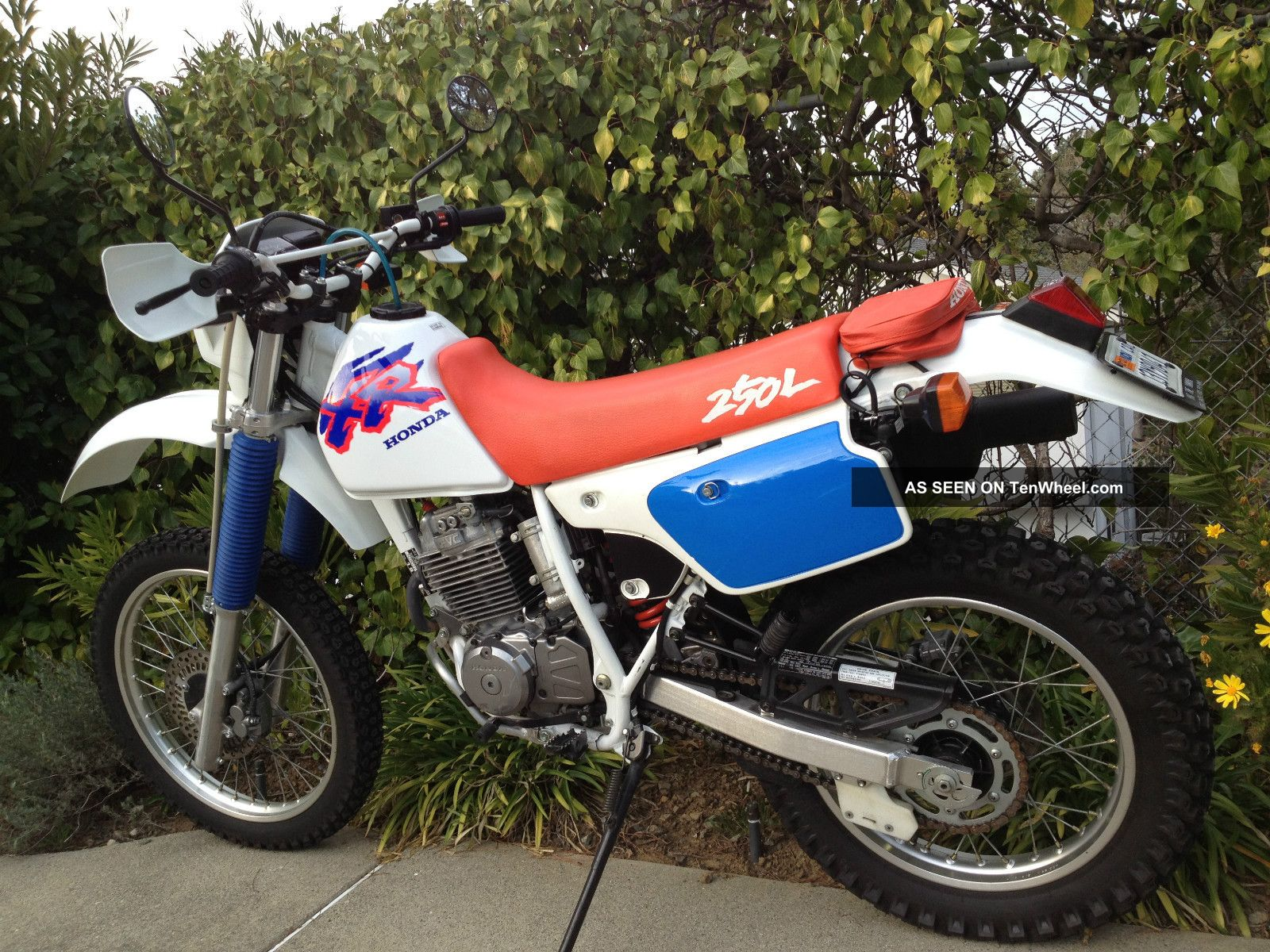 1993 Honda Xr250l Xr250 250 Xr Enduro Dual Sport Adventure XR photo