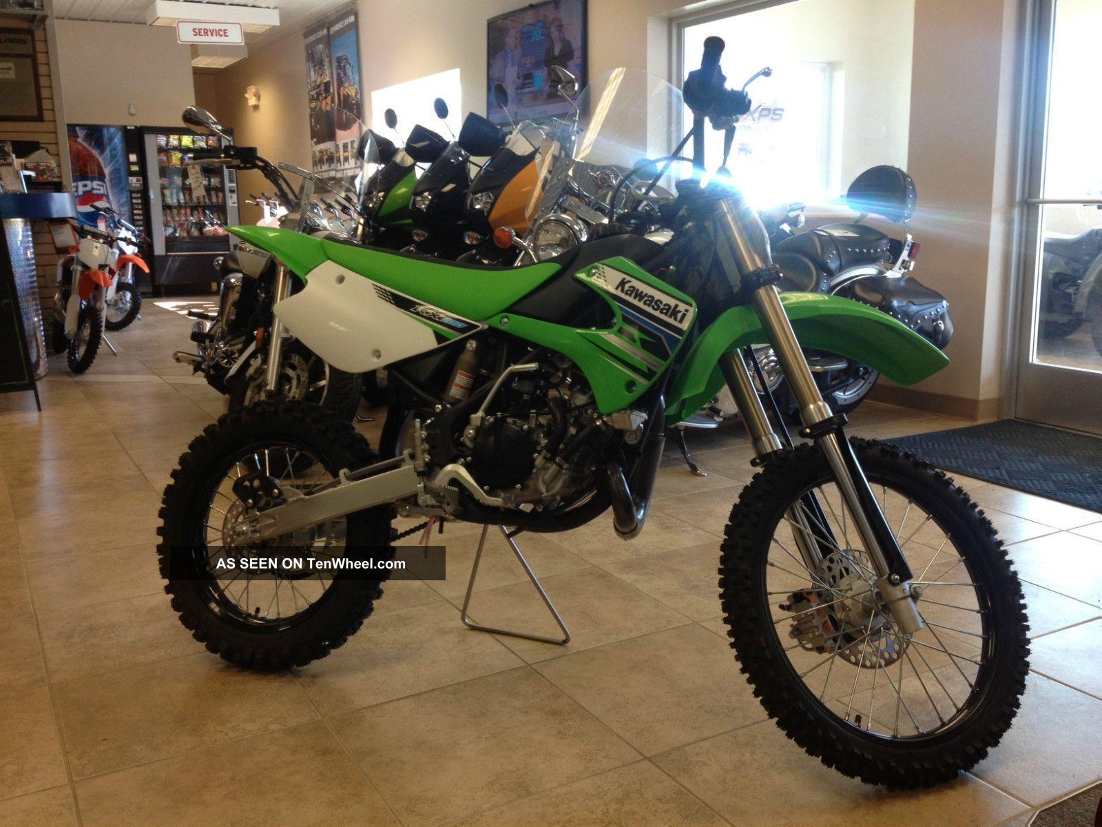 2012 Kawasaki Kx100 KX photo
