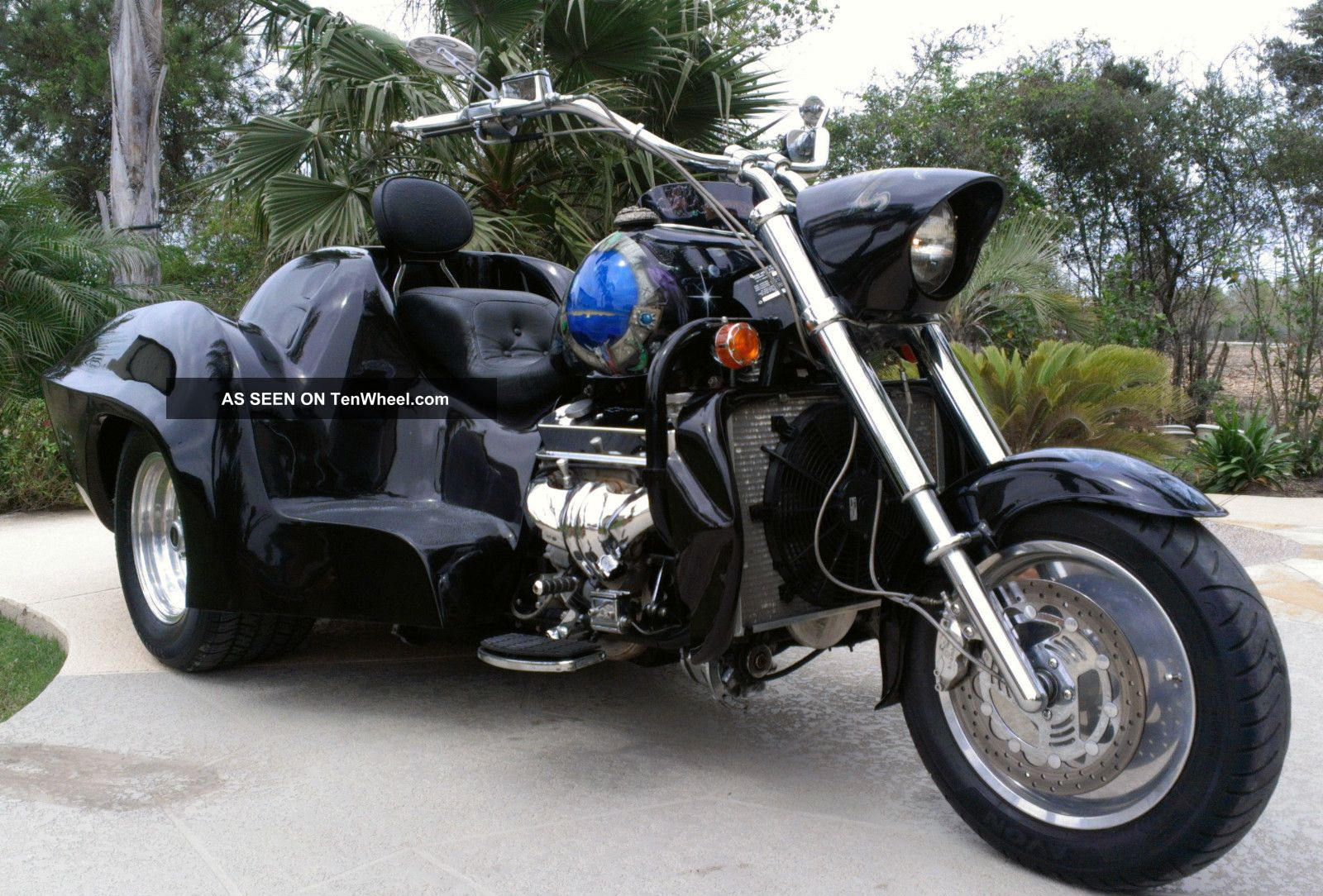1999 Boss Hoss Stingray Corvette Trike Boss Hoss photo